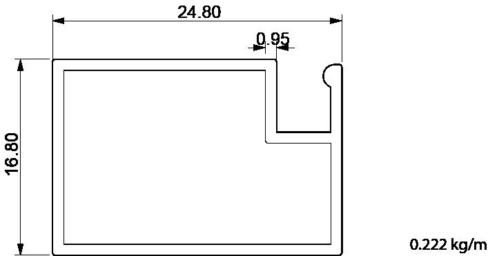 17x25 profil