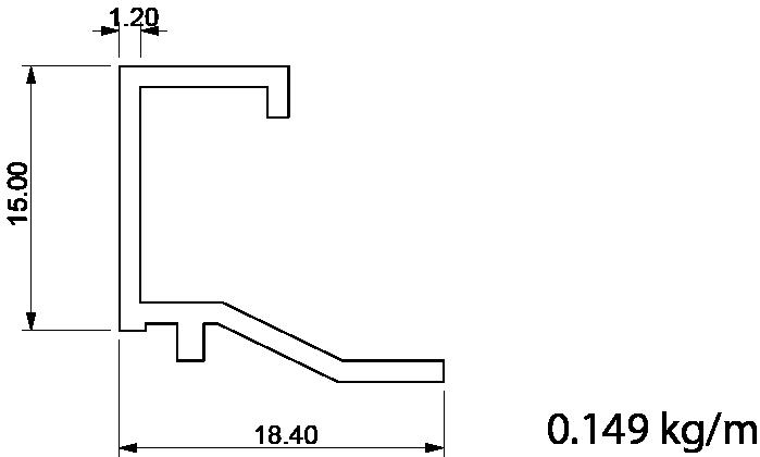 surme çıta profil